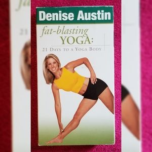 Denise Austin Fat-Blasting Yoga VHS